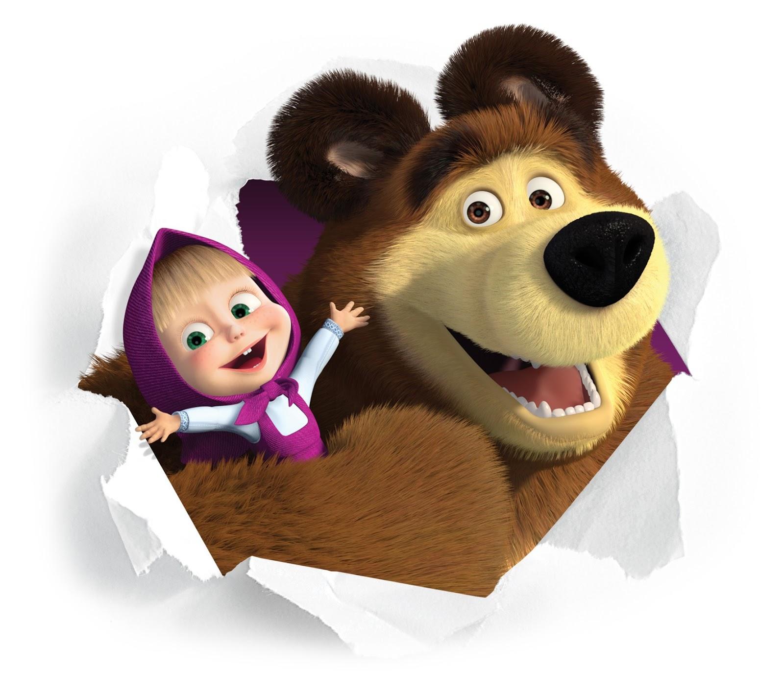 Masha E O Urso Sweet Caos